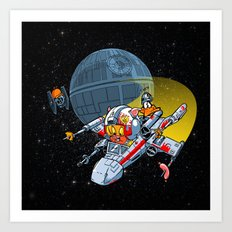 Porkins! (version 43.25) Art Print