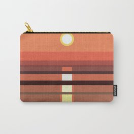 Abstract and geometric landscape 03 Carry-All Pouch