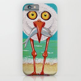 Cranky Seagull iPhone Case