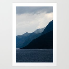 Gradients Art Print