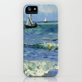 "Vincent Van Gogh ""The Sea at Les Saintes-Maries-de-la-Mer"" iPhone Case"