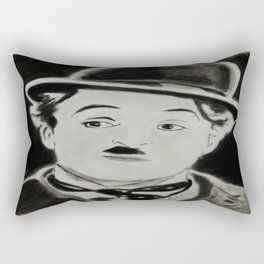Charlie Chaplin Rectangular Pillow
