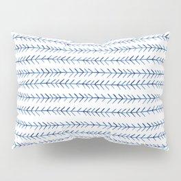 Watercolor Indigo Arrows Pillow Sham