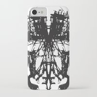 mask iPhone & iPod Cases featuring MASK by kartalpaf