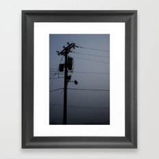 Is Anybody Out There? Framed Art Print
