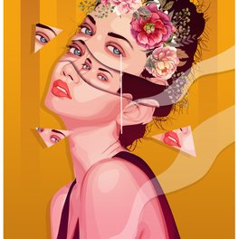 Art Print - PIECES - Faiza Rico