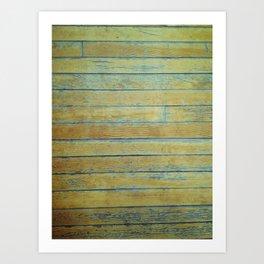 Wood Floors Art Print