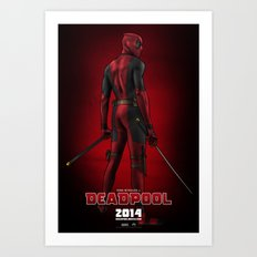 Deadpool (Poster) Art Print