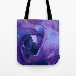 Floribunda Rose - Electric Purple Tote Bag