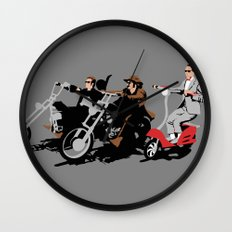 peewee rider. Wall Clock
