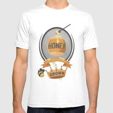 Honey, You Should See Me In A Crown. White Mens Fitted Tee SMALL