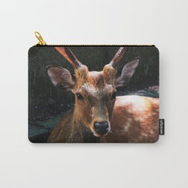 Tranquil Deer Carry-All Pouch