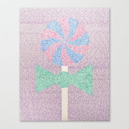 Candy Is Dandy (2018) Canvas Print