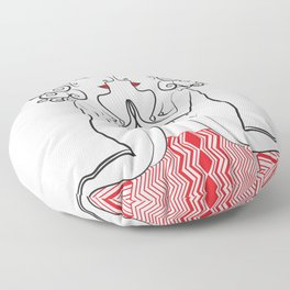 Self Reflection Floor Pillow