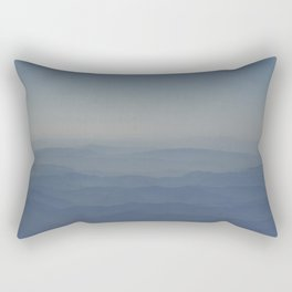 Top of the World One Rectangular Pillow
