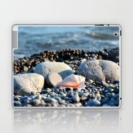 Stones and shell. Sea Composition Laptop & iPad Skin
