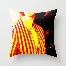 Vintage: Shrimp Throw Pillow