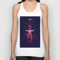 human Tank Tops featuring Human by Frank Moth
