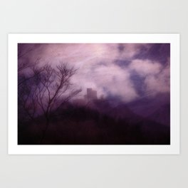 Mystical Castle  - JUSTART © Art Print