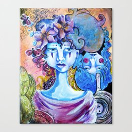 Upside/Downside Canvas Print
