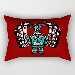 Northwest Pacific coast Haida art Thunderbird Rectangular Pillow