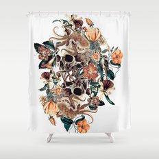 Fantasy Skull Shower Curtain