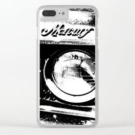 Mercury Comet Clear iPhone Case