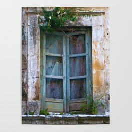 Abandoned Sicilian House in Noto Poster