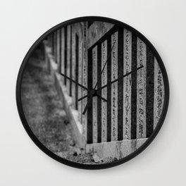 Shrine Steps Wall Clock