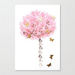 Cupcake Tree Canvas Print