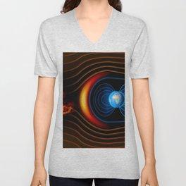 Shield of Earth Unisex V-Neck