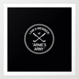 Arnies Army Art Print