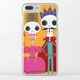 Throne of Bone Clear iPhone Case
