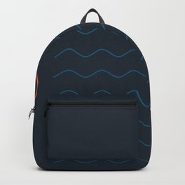 La Mer (Nuit) Seascape Backpack