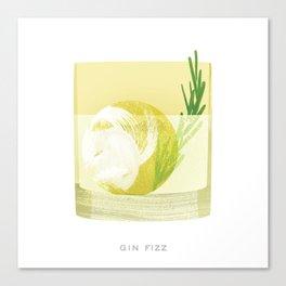 Cocktail Hour: Gin Fizz Canvas Print