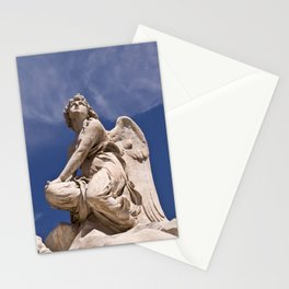 WHITE ANGEL of SICLY Stationery Cards