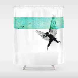 IkarianFall#2:ItWasSpring Shower Curtain