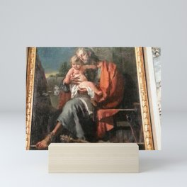 Giovanni Battista Tiepolo - St Joseph with Child Mini Art Print