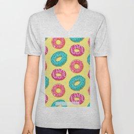Donuts Unisex V-Neck