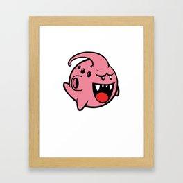 Majin Boo Framed Art Print