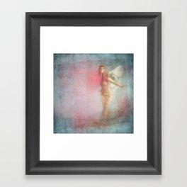 WHERE THE HEART GOES ... Framed Art Print