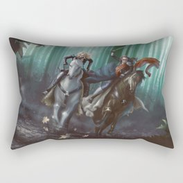 To Mount Weather Rectangular Pillow