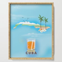 Cuba Serving Tray