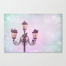 MAGICAL VENICE   Pink Lanterns Canvas Print