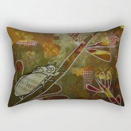 Cicada Music Rectangular Pillow