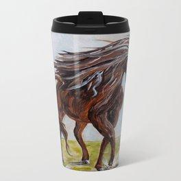 Splashing the Light - Young Horse Travel Mug