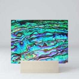Paua Abalone Shell Mini Art Print