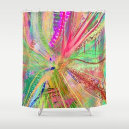 strolling by Shower Curtain