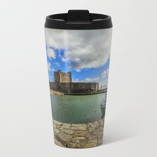 Old Carrickfergus Metal Travel Mug