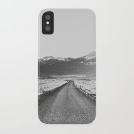 ON THE ROAD XX / Iceland iPhone Case